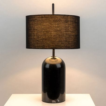 Manhattan Table Lamp Black