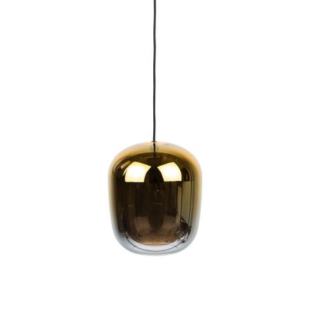 Ombre Glass Pendant Gold