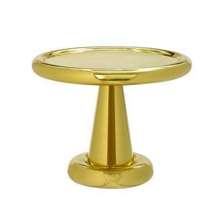 Spun Short Table Brass