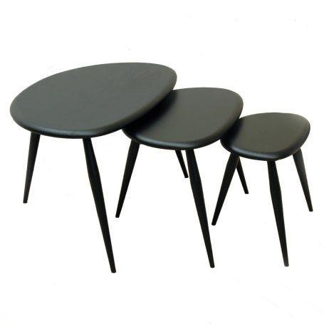 Originals Nest of Tables Colour Finish Black