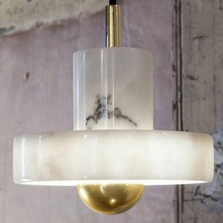 Stone Pendant Light
