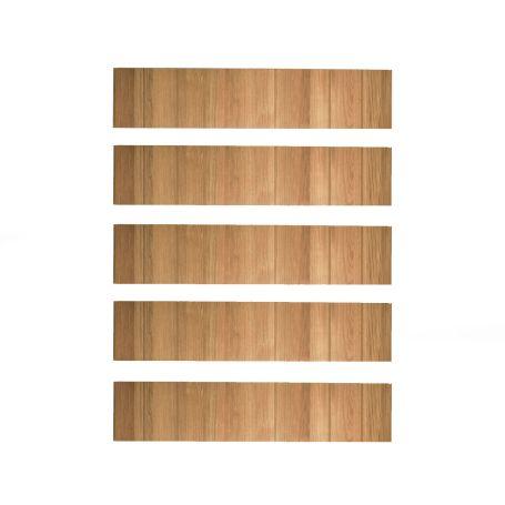 Tower Shelving Set Of 5 Shelves Oak