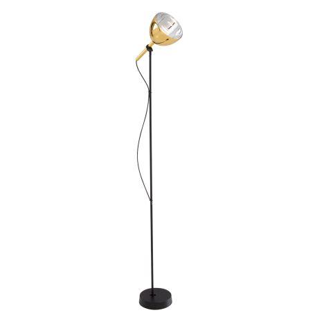 Brass Bell Floor Standing Light