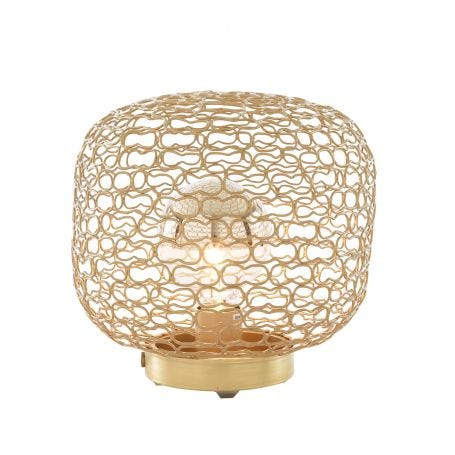 Jali Table Lamp Gold