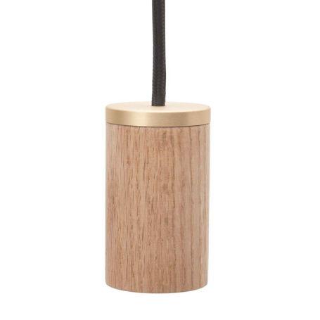 Knuckle Pendant Wood