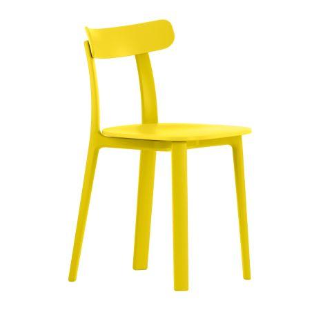 All Plastics Chair Buttercup Yellow