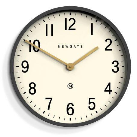 Mr Edwards Wall Clock Grey