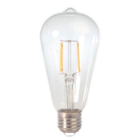 Rustik LED E27 Filament Bulb 6W