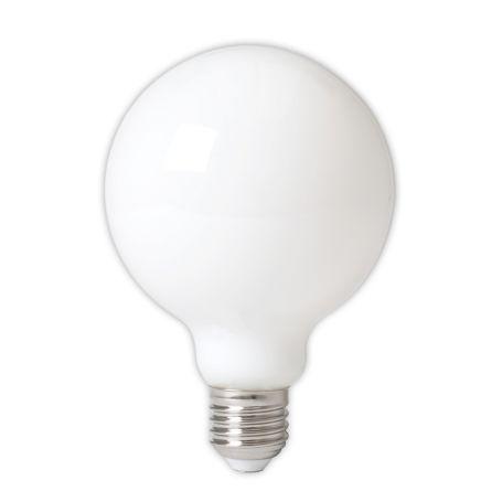 LED Long Filament Globe Bulb Opal 6W E27