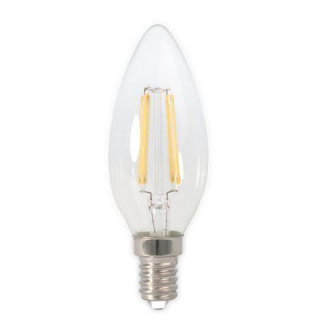 Candle LED E14 Filament Bulb Clear 3.5W