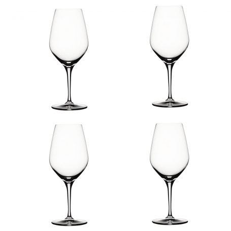 Authentis Red Wine Glasses Set of 4