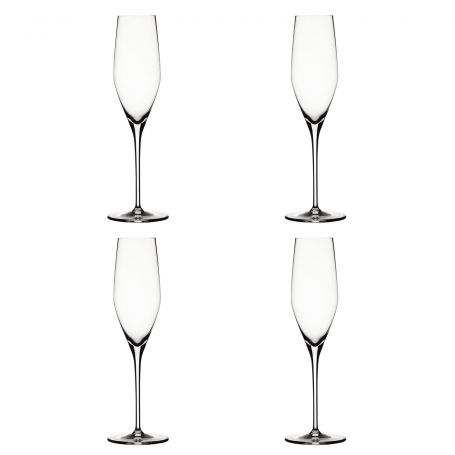 Authentis Champagne Flutes Set of 4