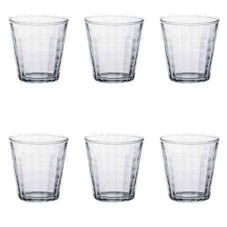 Prisme Tumbler Set of 6 Clear