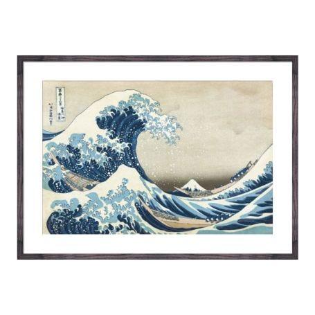 Hokusai The Great Wave At Kanagawa Framed Print