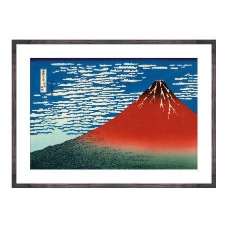 Hokusai - The Great Wave At Kanagawa framed print