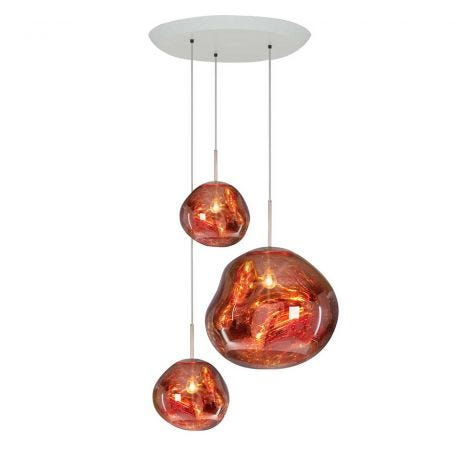 Melt Trio Round Pendant Light System