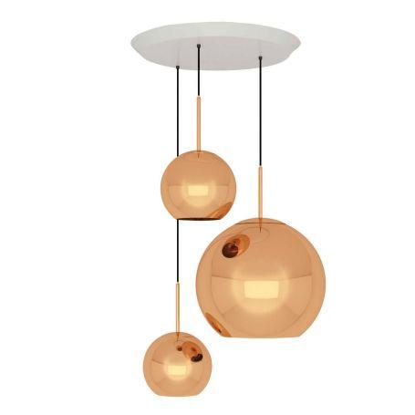 Copper Trio Pendant System