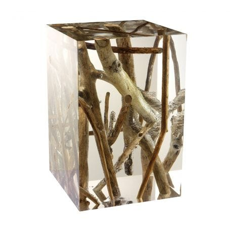 Spur Side Table Small Driftwood