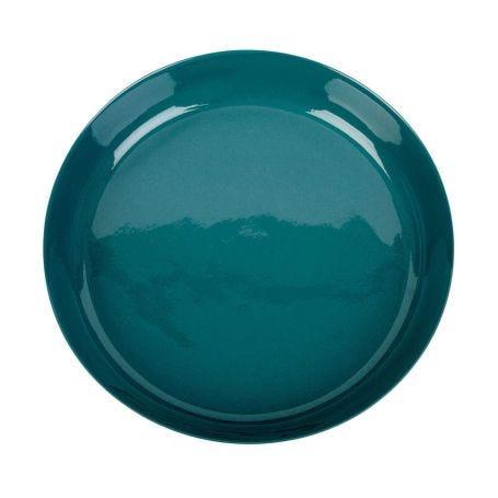 Porcelain Forest Green Pasta Bowl