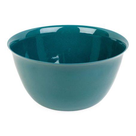 Porcelain Forest Green Salad Bowl