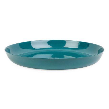 Porcelain Forest Green Serving Bowl