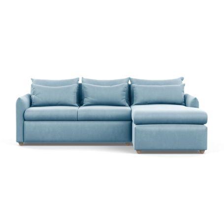 Pillow Medium Right Hand Corner Chaise Sofa Bed