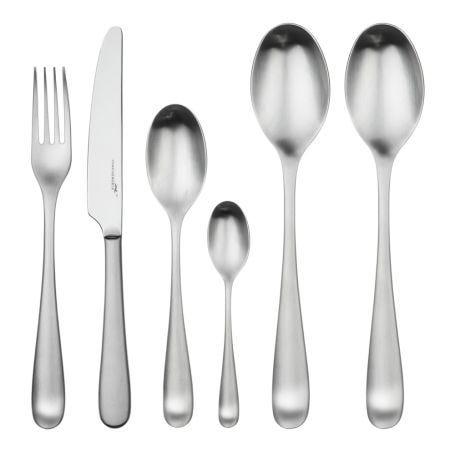 Mogano Satin Cutlery 42 Piece Set