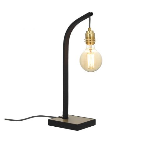 Wheal Noctis Table Lamp Black