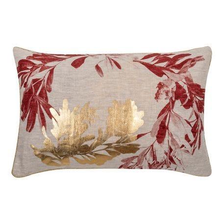 Banksia Cushion Rust Gold
