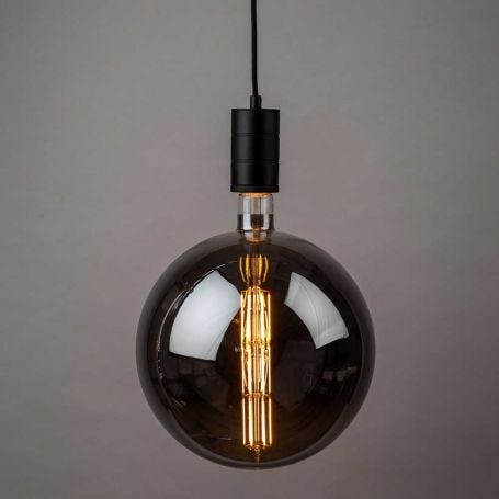 Manhattan Bulb 8W E27 Titanium LED