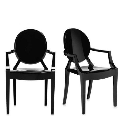 Louis Ghost Armchairs  - Minimum of 2 only