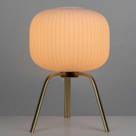 Opal Lantern Table Lamp