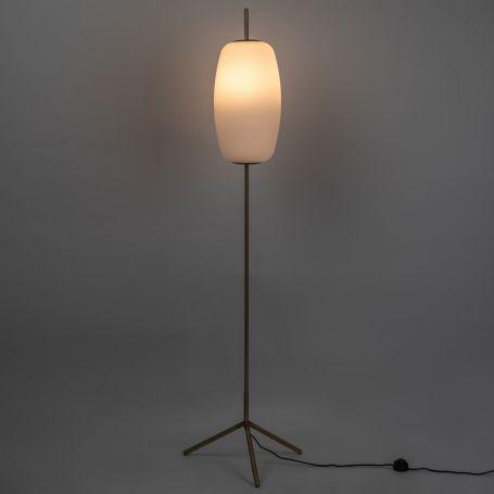 Silk Floor Lamp Opal