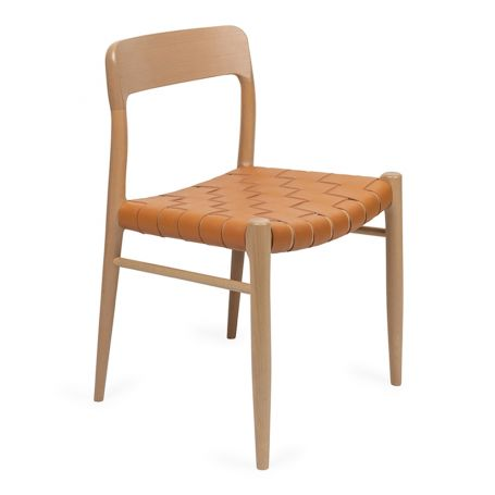 Oliver Chair Tan Leather