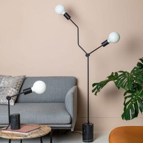 Twig Floor Lamp Black