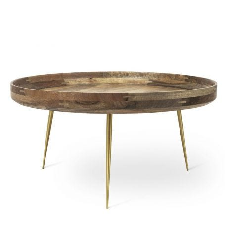 Bowl Table Extra Large Brass Legs
