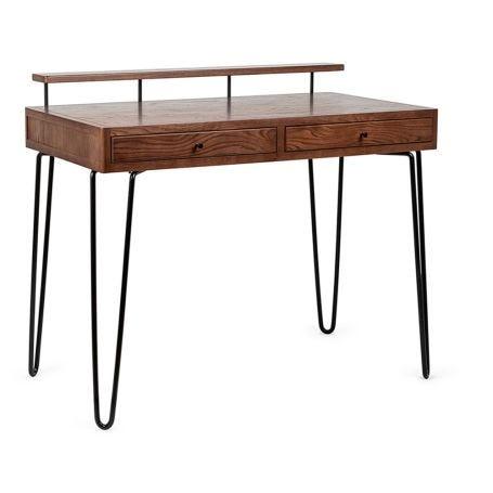 Brunel Desk Dark Wood