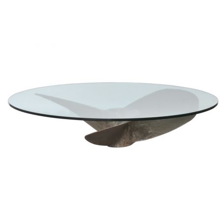 Junk Art Propellor Round Coffee Table
