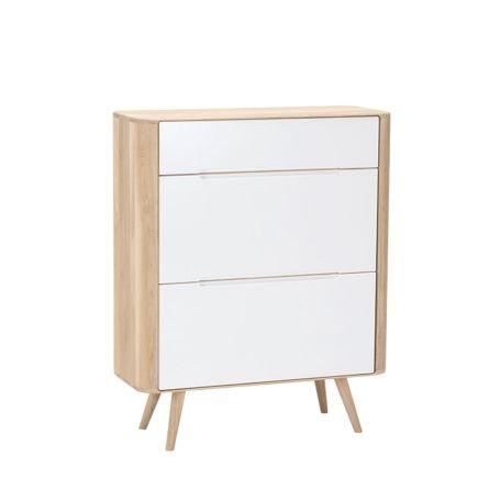 Ena Shoe Cabinet Oak