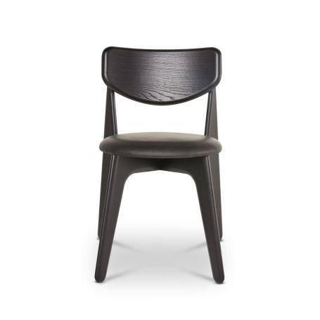 Slab Dining Chair Black
