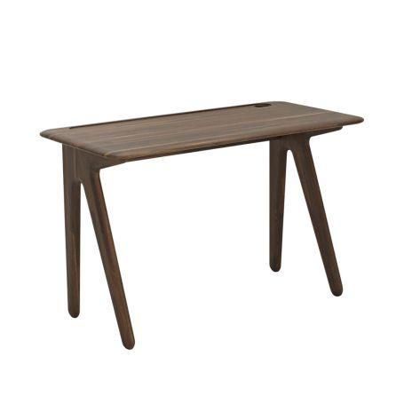 Slab Desk Smoked Oak