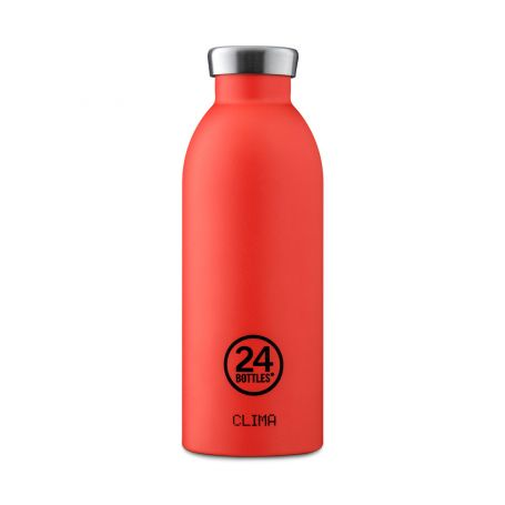 Clima Bottle 500ml in Pachino Red