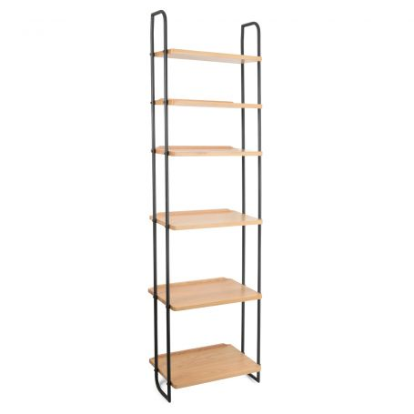Brunel Lean To Narrow Shelves With Metal Struts