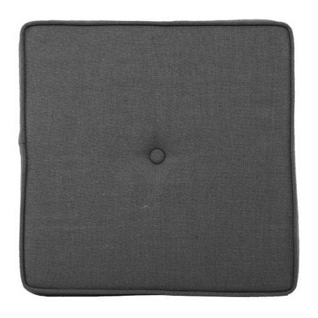 Brunel Stool Cushion Smoke Grey Fabric