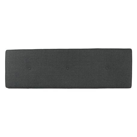 Brunel Blanket Box Cushion Smoke Grey