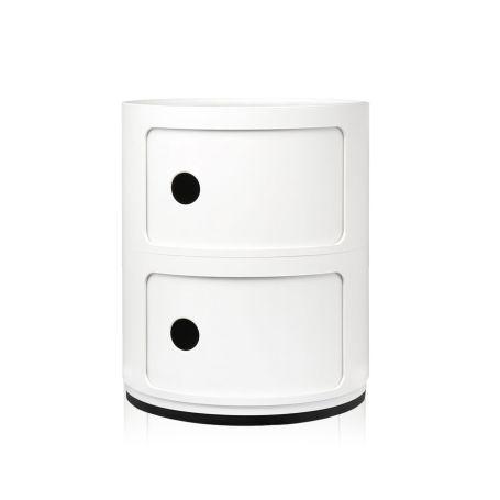 Componibili Cabinet 2 Element White