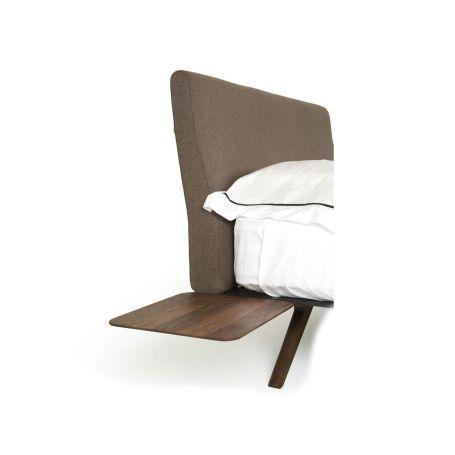 Hepburn Bedside Table Walnut