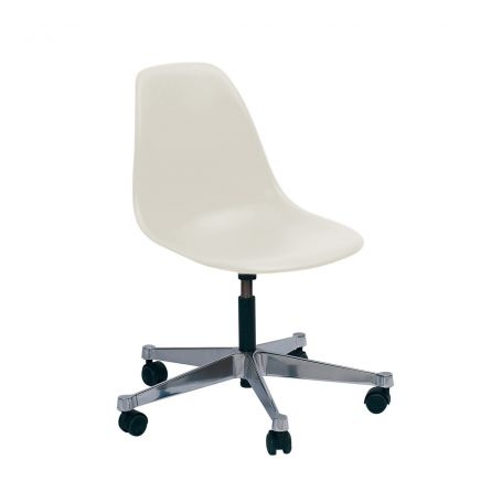 Eames PSCC Office Chair 04 White Polished