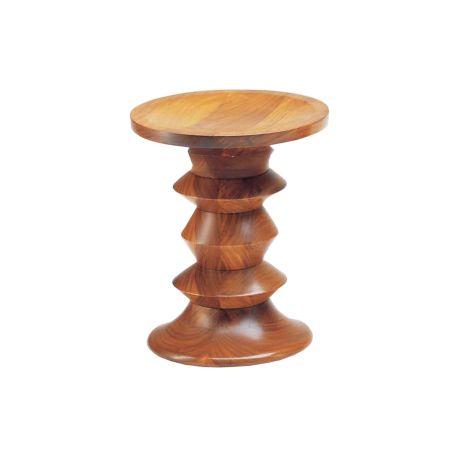Eames Stools Model A in Walnut