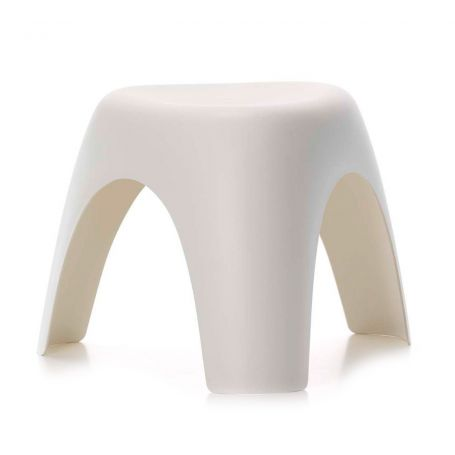 Elephant Stool in Cream